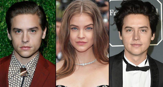 Dylan Sprouse, Barbara Palvin and Cole Sprouse