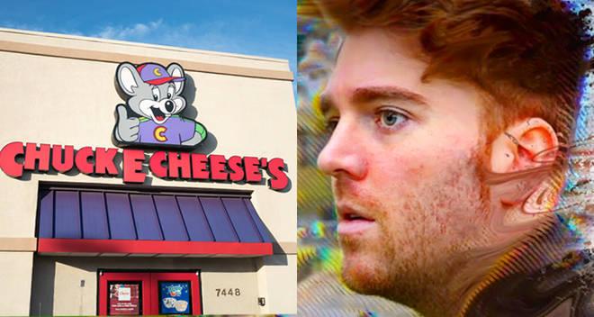 chuck e. cheese pizza shane dawson response