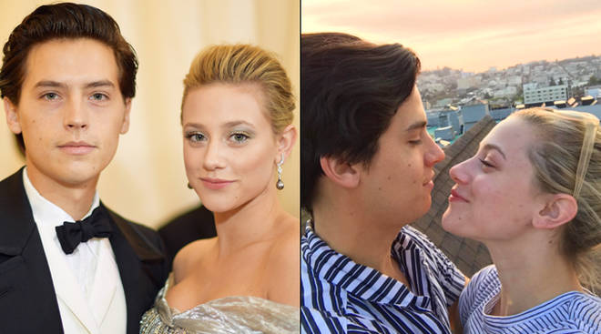 Cole Sprouse and Lili Reinhart's Valentine's day Instagram posts are the cutest