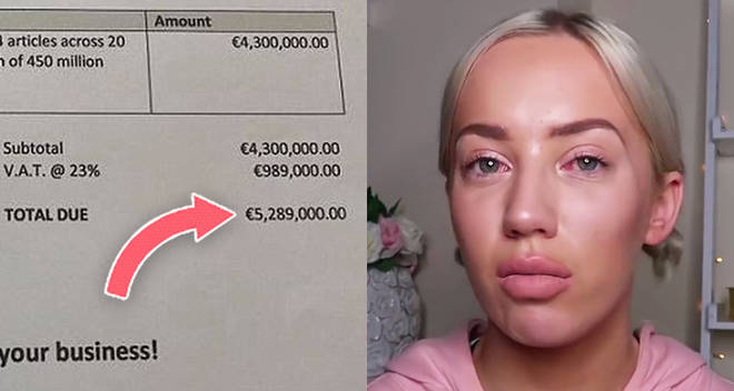 Hotel bills YouTuber Elle Darby €5,289,000 for publicity