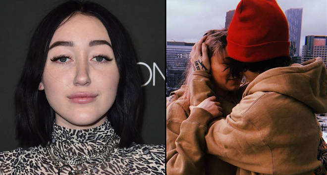 Noah Cyrus attends the Fashion Nova x Cardi B Collaboration Launch Event/Lil Xan and Annie Smith cuddling