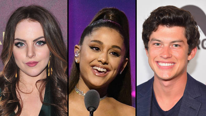 Ariana Grande hosts a 13 reunion with Liz Gillies and Graham Phillips