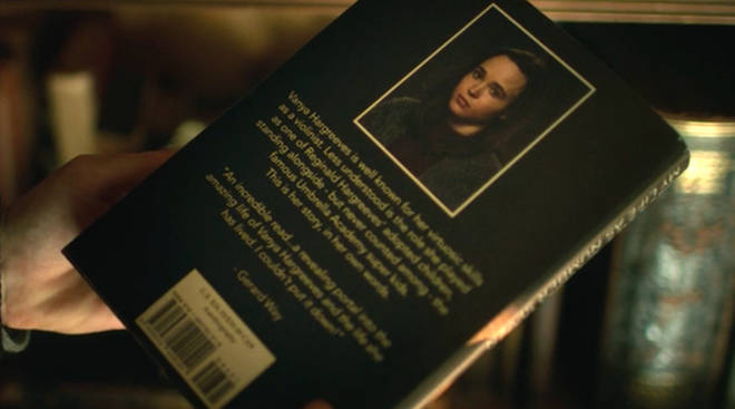 The blurb on the back of Vanya Hargreeves' autobiography was written by Gerard Way