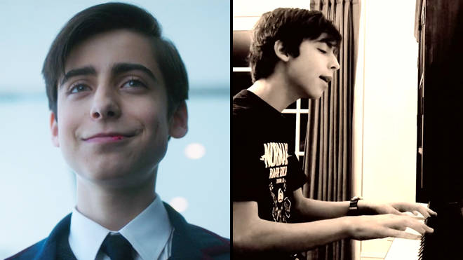 The Umbrella Academy: Aidan Gallagher (Number 5) covers My Chemical Romance (Gerard Way)