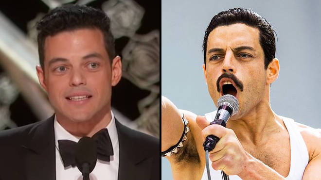"Rami Malek faces Oscars backlash for calling Freddie Mercury ""gay"" instead of bi"