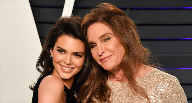 Kendall Jenner and Caitlyn Jenner attend the 2019 Vanity Fair Oscar Party.