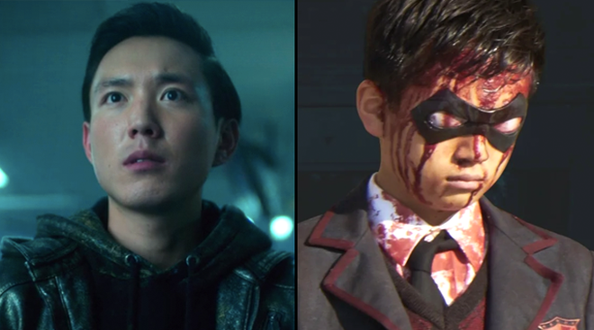Justin H. Min as Ben (Number 6) in The Umbrella Academy