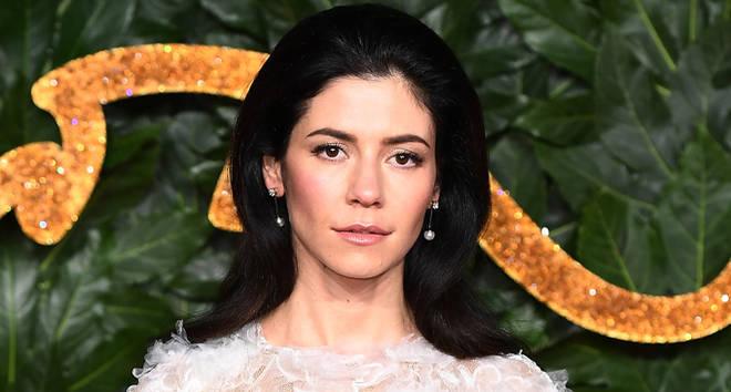 Marina Diamandis of Marina and the Diamonds arrives at The Fashion Awards 2018