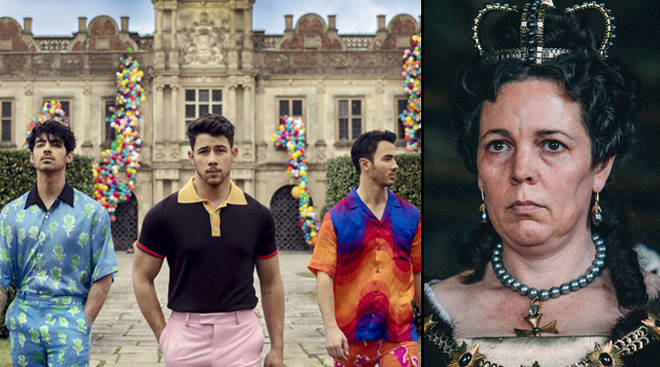 Jonas Brothers' 'Sucker' video was filmed in the same place as The Favourite