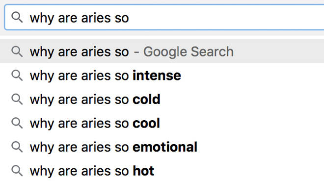 Why are Aries so - Zodiac star sign challenge meme