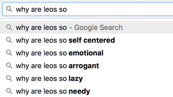 Why are Leos so - Zodiac star sign challenge meme