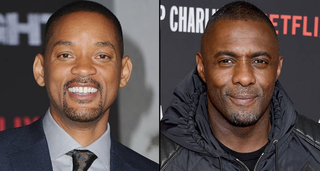 Will Smith attends the premiere of Netflix's 'Bright'/Idris Elba arrives at Netflix's 'Turn Up Charlie' For Your Consideration Event