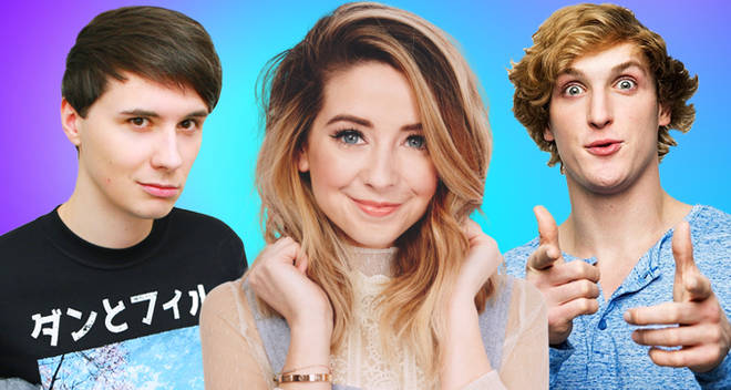 UK children's favourite youtuber logan paul zoella