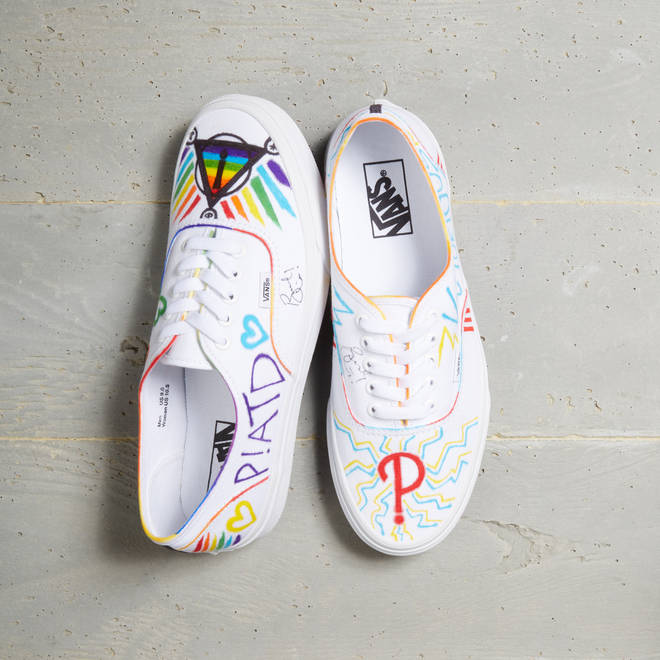 d8ef45c0f6 Brendon Urie Just Designed His Own Vans Slip-Ons And You ll Want ...