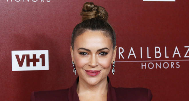 Alyssa Milano attends the VH1 Trailblazer Honors