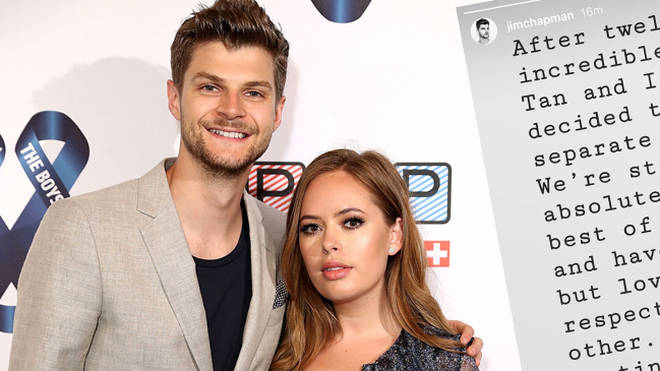 Jim Chapman and Tanya Burr split