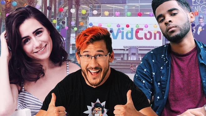 YouTubers at VidCon US