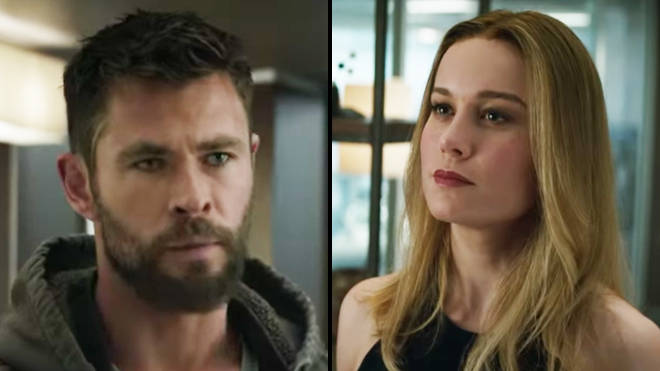Is there a Captain Marvel and Thor romance in Endgame? - PopBuzz