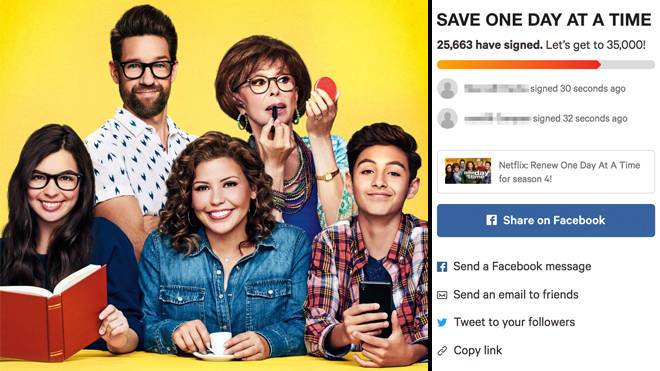 One Day at a Time: Petition to save the cancelled Netflix show for season 4
