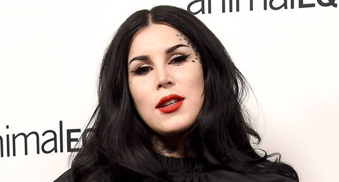 Tattoo artist Kat Von D arrives at the Animal Equality's Inspiring Global Action Los Angeles Gala