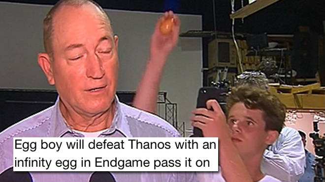 Egg boy memes are breaking the internet after Will Connolly egged Fraser Anning