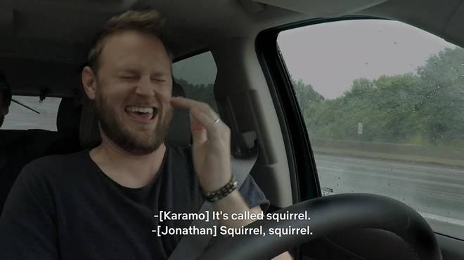 Netflix Tan France squirrel