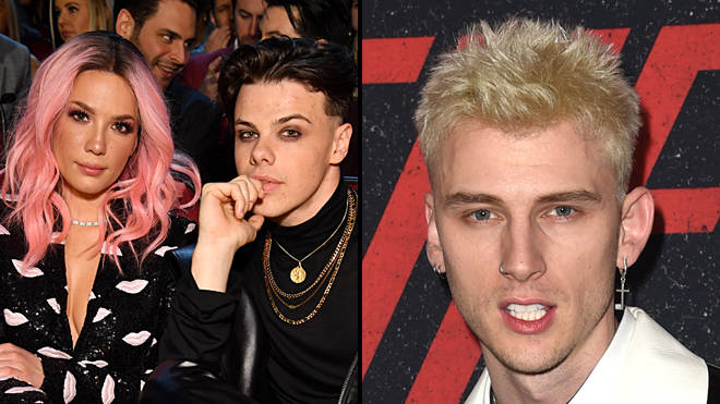 Halsey fans call out Machine Gun Kelly for bizarre comment on YUNGBLUD's Instagram