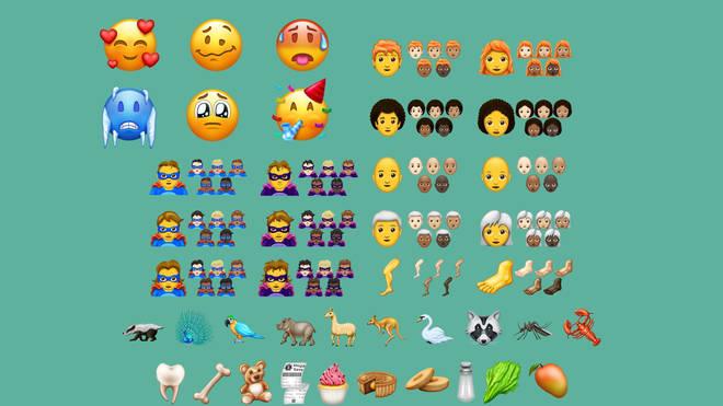 157 New Emojis