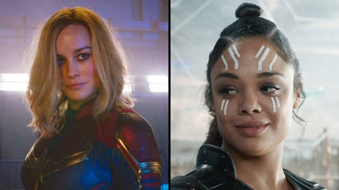 Is Captain Marvel gay? Does she fall in love with Valkyrie?