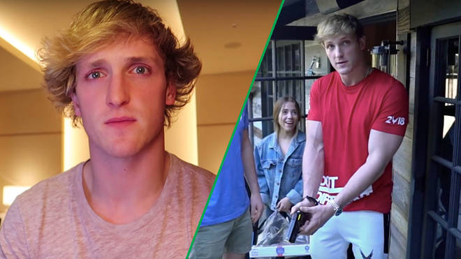 Logan Paul tasers a rat