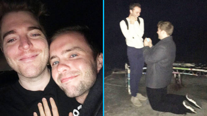 Shane Dawson and Ryland Adams just got engaged with the most adorable proposal