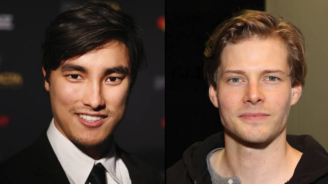 Remy Hii as Luen (left) and Hunter Parrish as Felix (Right)