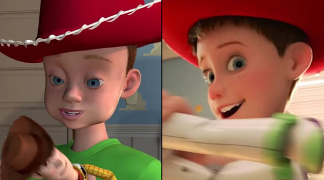 Andy's face looks completely different in the Toy Story 4 trailer