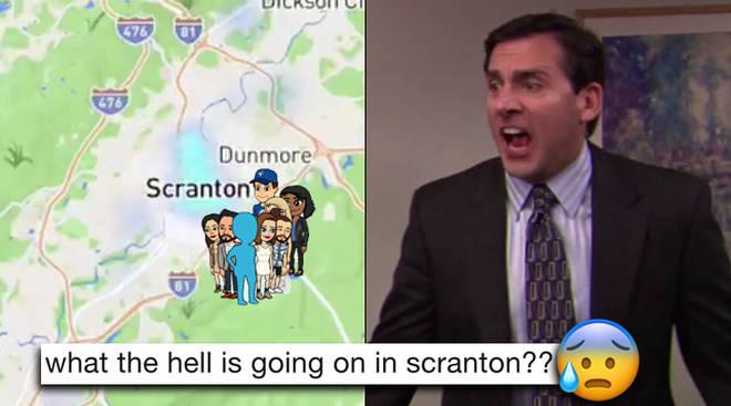 Snapchat Map Meme