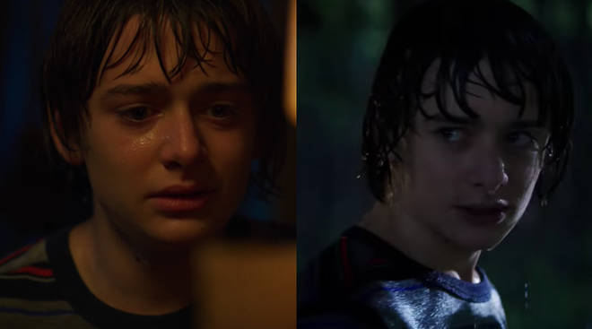 Where is Will Byers and why is he soaking wet?