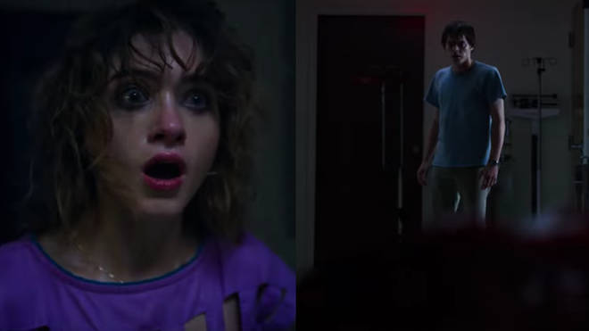 Nancy and Jonathan in Stranger Things 3