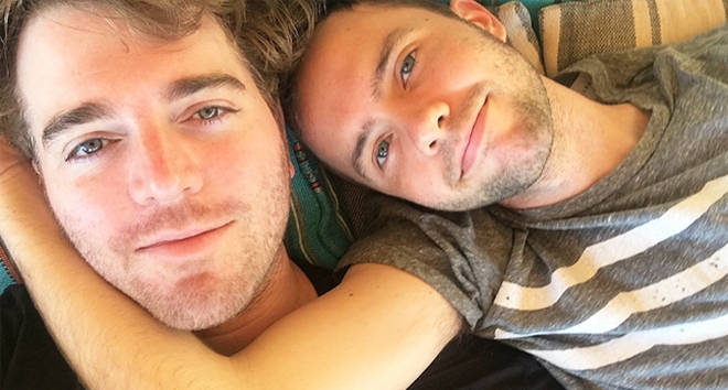 Shane Dawson and Ryland Adams are engaged.