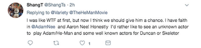 Reaction to Noah Centineo He-Man casting