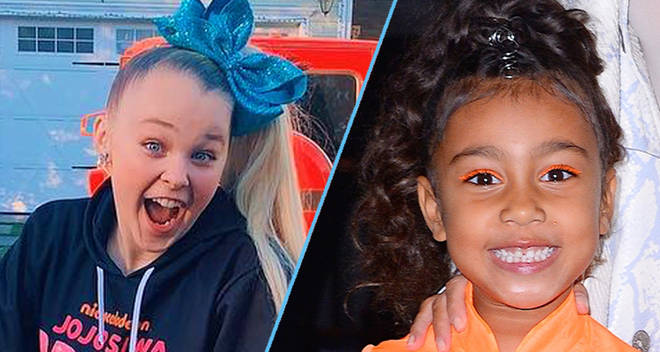 jojo siwa and north west