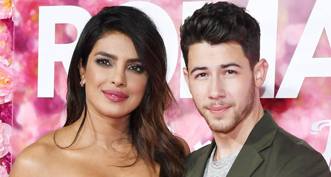 Priyanka Chopra and Nick Jonas attending the premiere of 'Isn't It Romantic'.