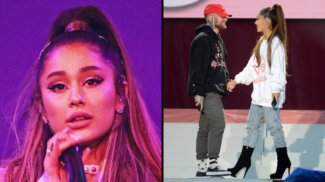 Ariana Grande on the Sweetener tour and with Mac Miller at One Love Manchester