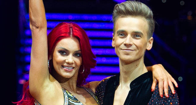 joe sugg dianne buswell strictly banned