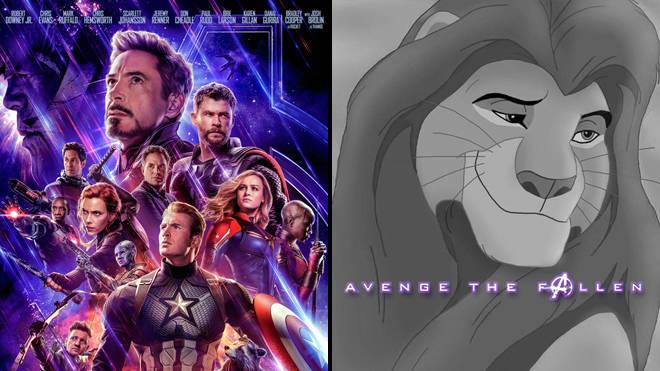 """Los memes de """"Vengamos a los caídos"""" están inspirados en los Vengadores: Carteles de Fin de Juego."""
