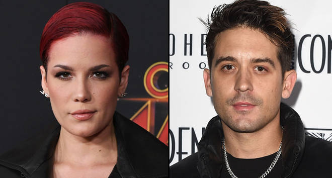 Halsey attends Marvel Studios 'Captain Marvel' Premiere/G-Eazy attends the Los Angeles Confidential Grammys Celebration