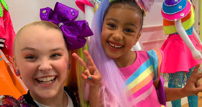 jojo siwa north west video collab