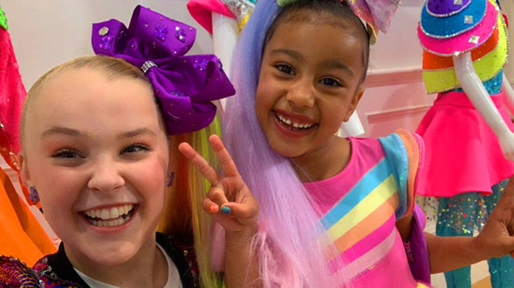 3b7fb371f13 JoJo Siwa just did a collab with North West and it s WILD - We The ...