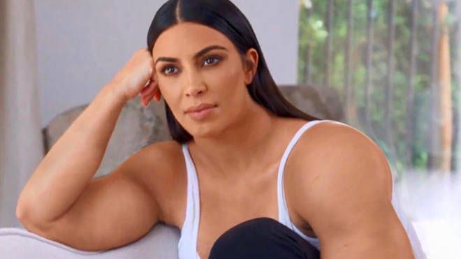Buff Kim Kardashian Has Been Turned Into A Meme And Its So