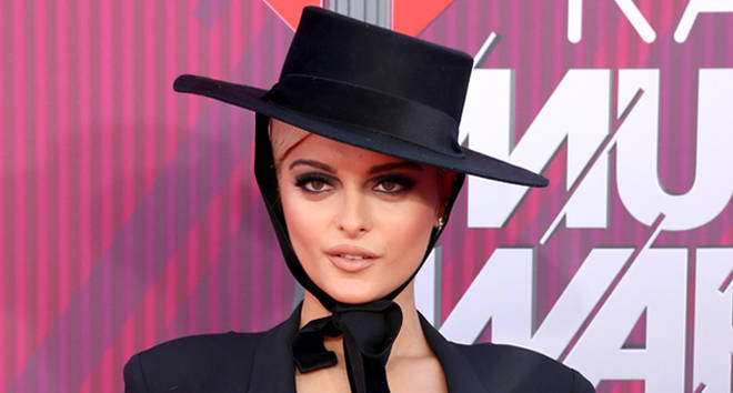 Bebe Rexha attends the 2019 iHeartRadio Music Awards.