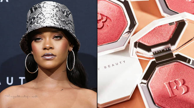 "Fenty Beauty is under fire over their ""Geisha Chic"" highlighter"