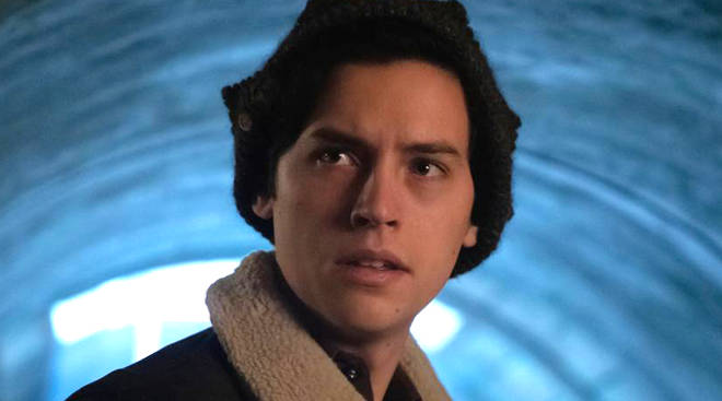 Cole Sprouse as Jughead Jones in Riverdale season 3